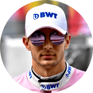 Esteban Ocon Helm design