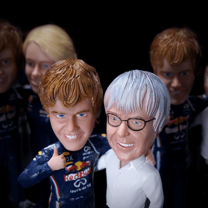 Handmade 3D-figures