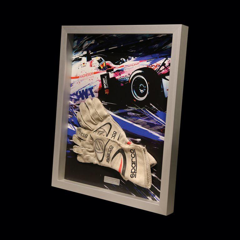 3D frame for racegloves